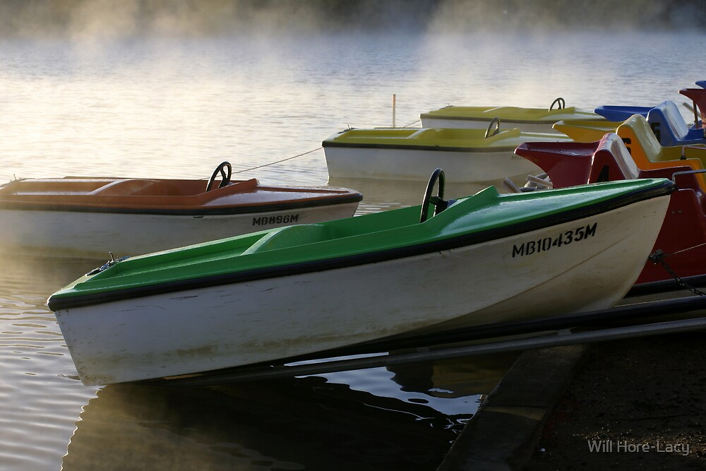 Boats at Anglesea by Will Hore-Lacy