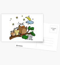 Owl you need is love Postkarten