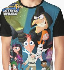 Phineas and Ferb, Star Wars Graphic T-Shirt