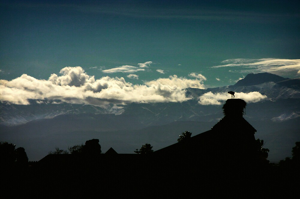 altas mountains by meanderthal