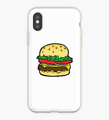 hamburguesa de queso! Vinilo o funda para iPhone