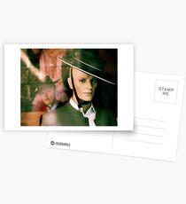 Hombre y Hombre Postcards