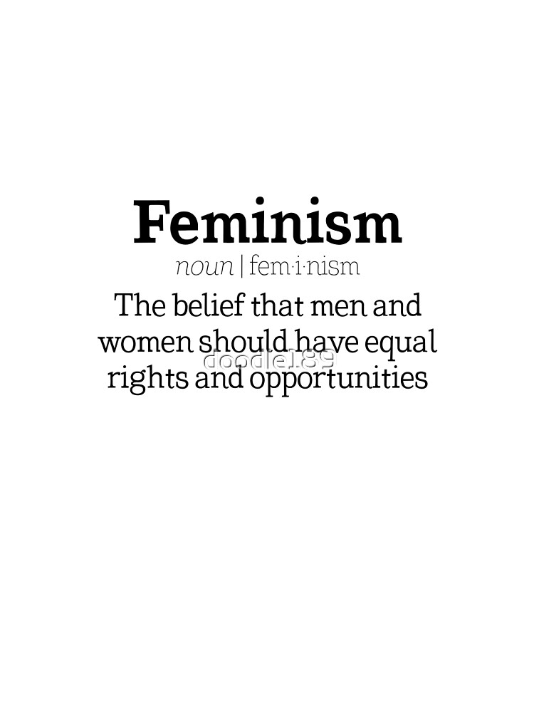 Nice Feminism Definition By Doodle189