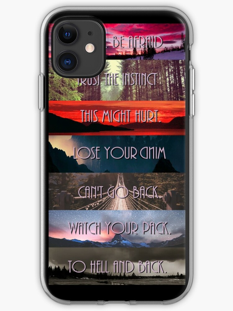 Teen Wolf Season 5 iphone case