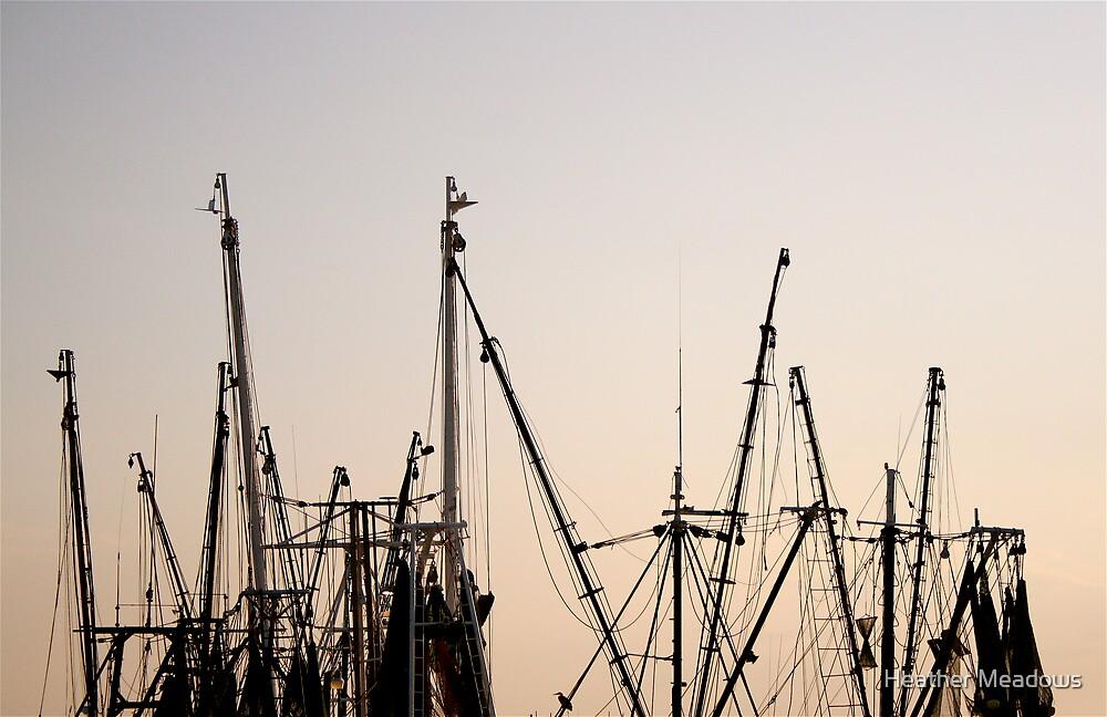Boat Skyline by Heather Meadows