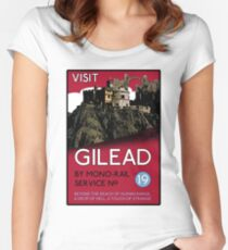 Visit Gilead (The Dark Tower) Women's Fitted Scoop T-Shirt
