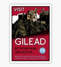 Visit Gilead (The Dark Tower) Sticker