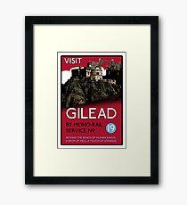 Visit Gilead (The Dark Tower) Framed Print