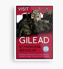 Visit Gilead (The Dark Tower) Metal Print