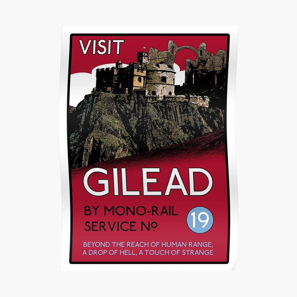 Visit Gilead (The Dark Tower) Poster