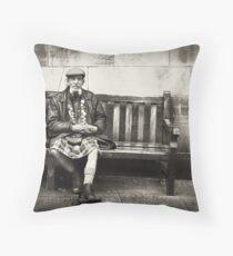 The Scotsman Throw Pillow