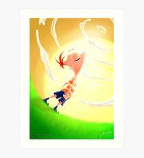 Phineas Flynn Art Print