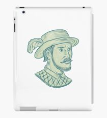 Juan Ponce de Leon Explorer Drawing iPad Case/Skin