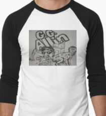 GG Allin  Men's Baseball ¾ T-Shirt