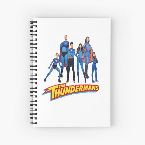 The Thundermans Spiral Notebook