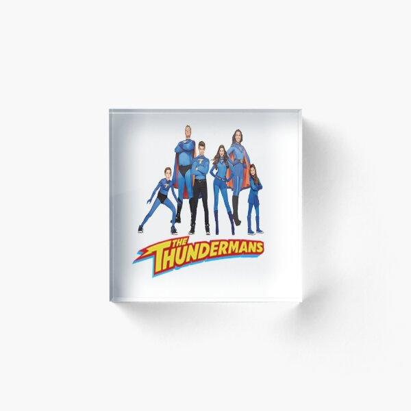 The Thundermans Acrylic Block