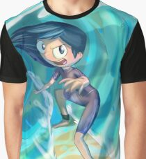 Surfer Isabella! Graphic T-Shirt