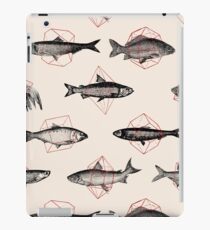 Fishes in Geometrics iPad Case/Skin