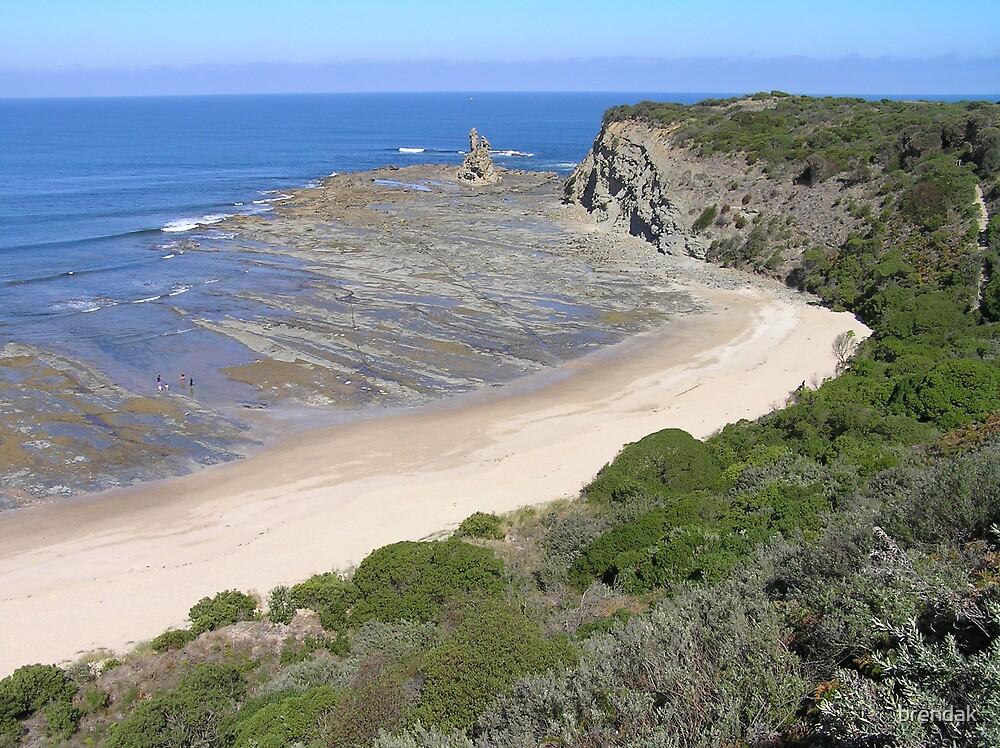 Beach near Eagle's Nest, Inverloch, Victoria, Australia by brendak