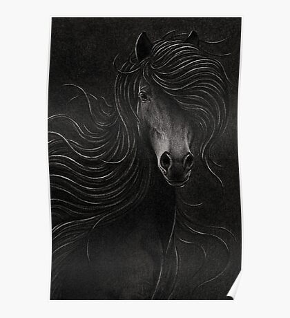 Night Horse Poster