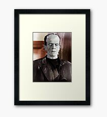 Bride of Frankenstein Framed Print