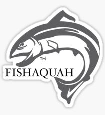 Fishaquah (Issaquah) Sticker