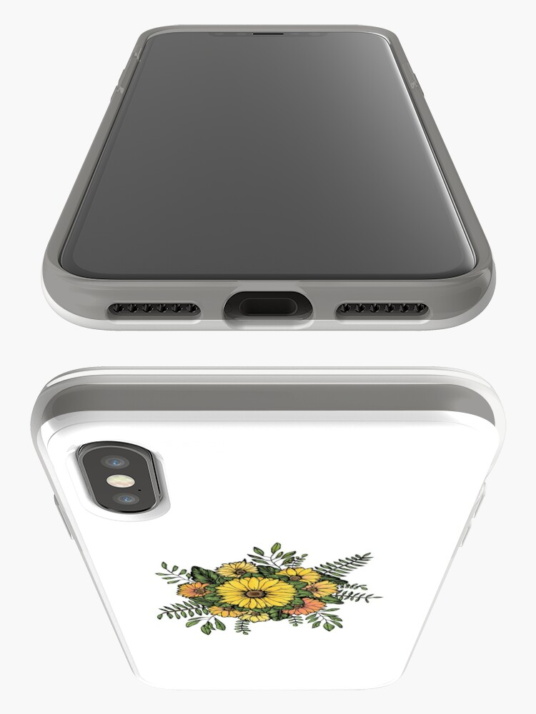 Alternate view of SUNFLOWERS iPhone Case & Cover