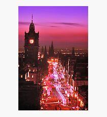 The Old Lady of Edinburgh Photographic Print