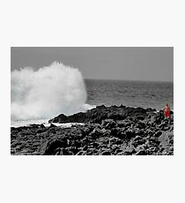 Man and Nature Come together as one. Photographic Print