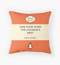 Penguin Classics One Flew Over the Cuckoo's Nest Throw Pillow