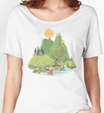 Glitchscape Women's Relaxed Fit T-Shirt