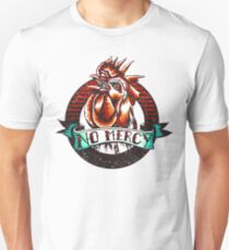 NO MERCY - Vintage Rooster - Red Unisex T-Shirt