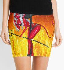Poletober 4 - Devil Mini Skirt