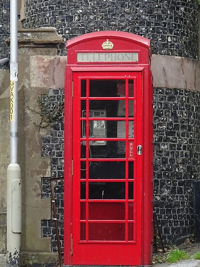 Telephone Booth in England by skysonglark