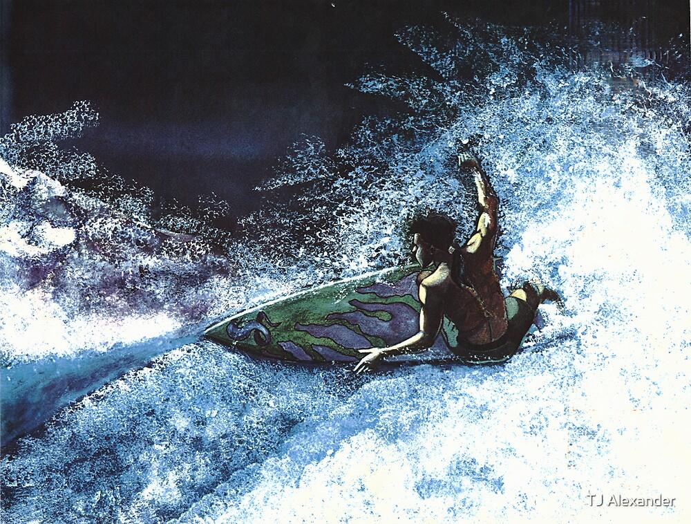 Surfing by TJ Alexander