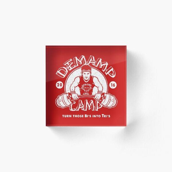 Demamp Camp Acrylic Block