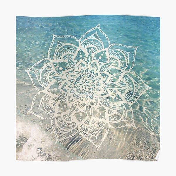 Water Mandala Poster
