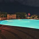 Pool nights #5 by Stefan Bau