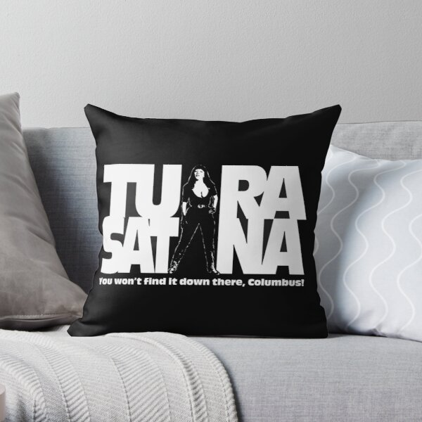 You won't find it down there, columbus! Throw Pillow