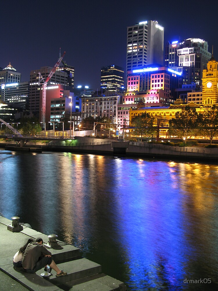 Conversation By the Yarra by drmark05