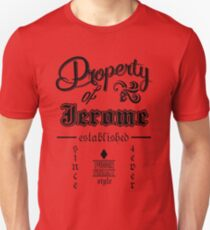 property of jerome Unisex T-Shirt