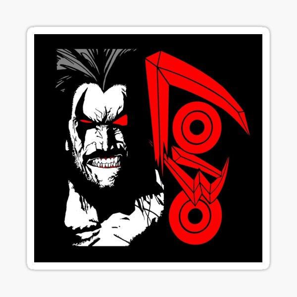 Lobo Logotipo Pegatina