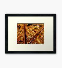 Tiger Wood Framed Print
