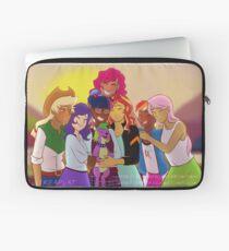 Equestria Girls: Friendship Games (Final Scene Redraw) Laptop Sleeve