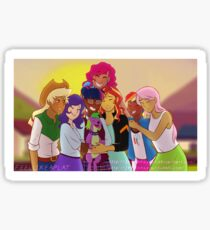 Equestria Girls: Friendship Games (Final Scene Redraw) Sticker