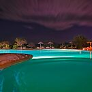 Pool Nights #6 by Stefan Bau
