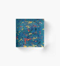 Abstract #902 Acrylic Block