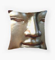 Gold Buddha  Throw Pillow