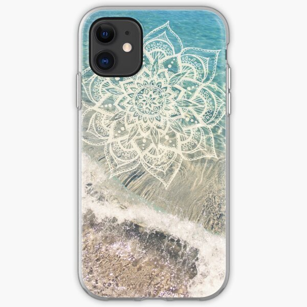 Ocean Mandala iPhone Soft Case