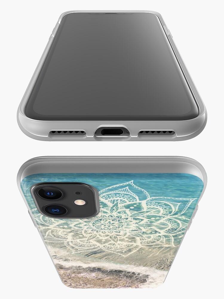 Alternate view of Ocean Mandala iPhone Case & Cover